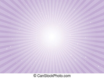 Purple radial background rays