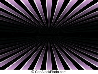 Warp mode vector background