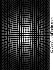 Silver vector dot background