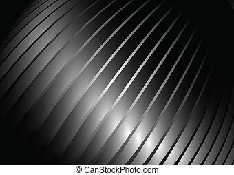 Twisted silver vector background