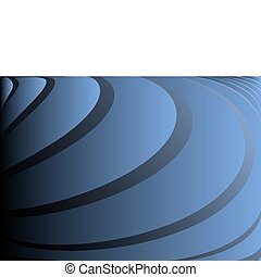 Blue rounded vector background