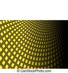 Yellow squared background surface