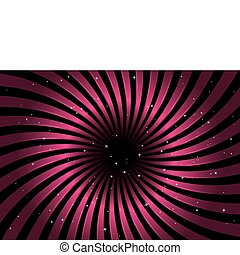 Pink radial spreading background fl