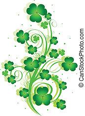 St. Patrick%u2019s Day swirl