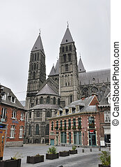 The cathedral of Our Lady in Tournai