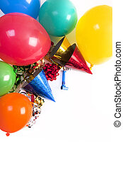 happy birthday still life - happy birthday studio shot on a...