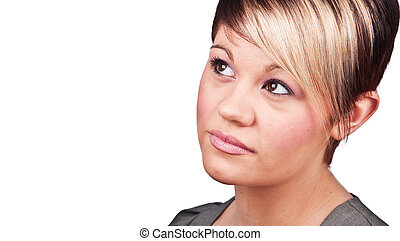 20 something good looking female portrait - photo 20...