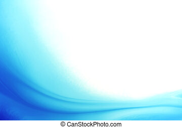 Absract wavy background - Absract wavy blue background
