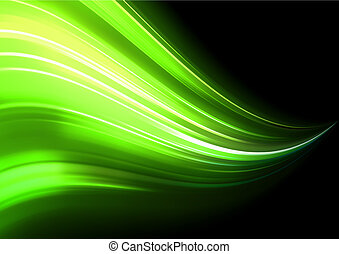 Abstract Background - Vector illustration of neon abstract...