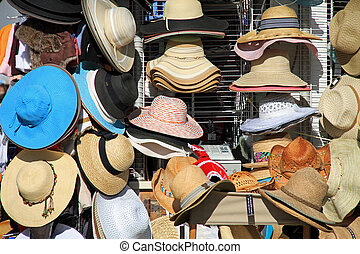 Hats, hats, and hats - Attractive women's hats on sale