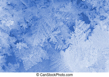 Stucture of snow surface - Background can use the Internet,...