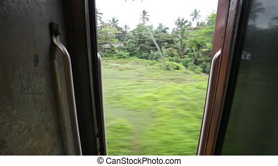 train, Sri Lanka