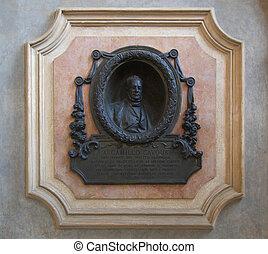 Cavour monument - Camillo Benso Conte di Cavour statue in...
