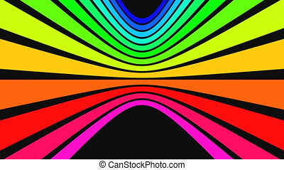 Vertical rainbow strips 2
