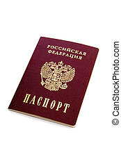 passport of the Russian Federation - isolated passport of...