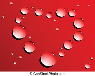 love heart drops