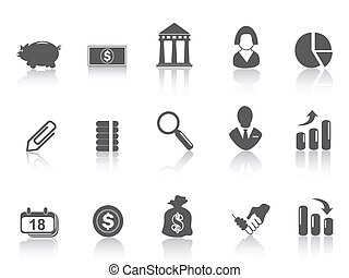 simple bank icon - some simple bank icon for web design