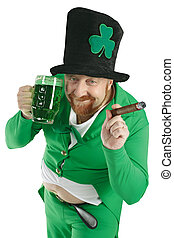 St Patricks Day Leprechaun - A photo of a Leprechaun...