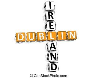 Dublin Ireland Crossword