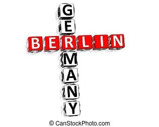 Berlin Germany Crossword