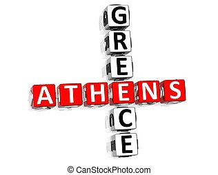 Athens Greece Crossword