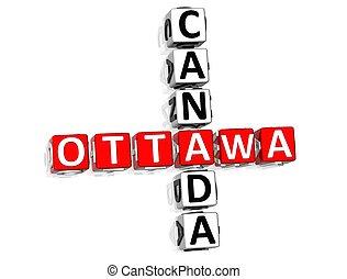 Ottawa Canada Crossword