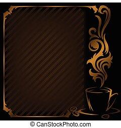 diagonal coffee Frame