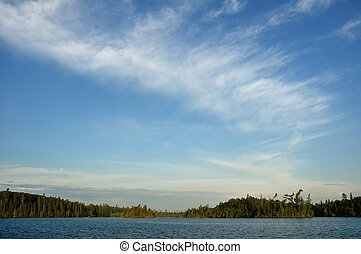 Wilderness Lake - Pristine Pine, Cedar, and Fir Forest by...