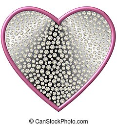 diamond heart    - diamond heart