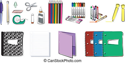 School and Office Supplies - School/office supplies...
