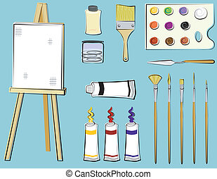 Art Supplies - Painting - Art supplies for painting...