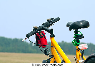 自転車, 黄色