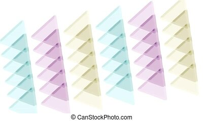 color transparent papers,plastic triangle mosaics,toy...