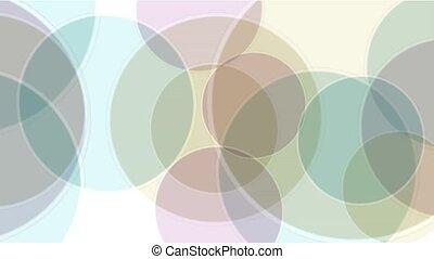 soap bubble,color circle dance