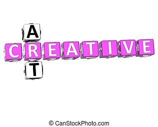 Creative Art Crossword