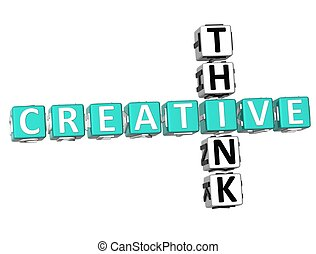 Think Creative Crossword