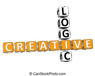 Logic Creative Crossword - 3D Logic Creative Crossword on...