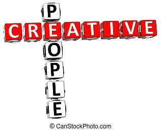 Creative People Crossword