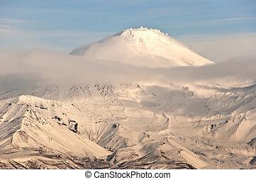 Volcano  in Russia