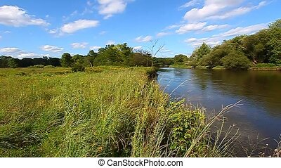 Kishwaukee River - Illinois - A Beautiful day along the...