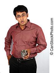Surprised Indian Man