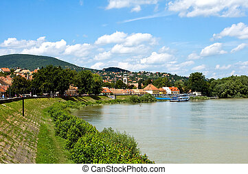View of Szentendre near the river Danube, Hungary