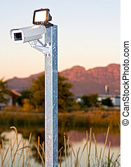 outdoor surveilance camera