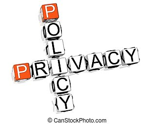 Policy Privacy Crossword