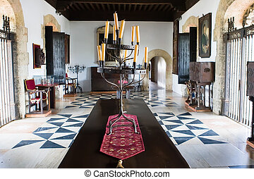 Room in House of Christopher Columb Santo Domingo Dominican...