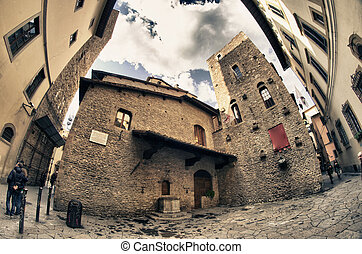 Historic Buildings of Florence, Italy