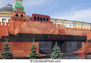 Lenin Mausoleum, Red Square.