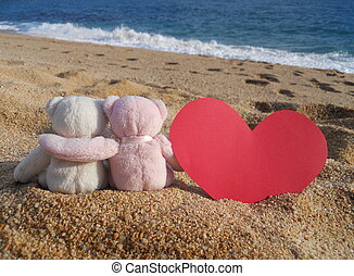 teddy bears romance