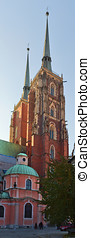 Archicathedral of Wroclaw - Cathedral church in Wroc?aw,...