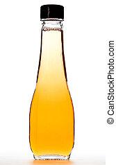 Bottle With Apple Vinegar - glass bottle with apple vinegar...